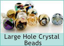 Crystal Large Hole Beads