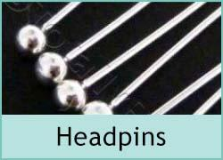 Sterling Silver Headpins