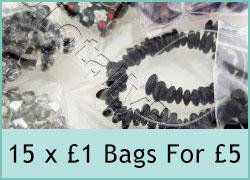 15 pounds of beads for a fiver