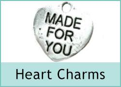 Metal Charms - Hearts