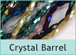 Crystal Barrel Beads
