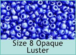 Size 8 Opaque Luster