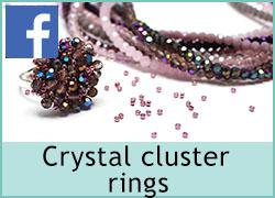 Crystal Cluster rings - 6th October