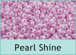 Pearl Shine Seed Beads