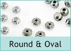 Round and Oval Beads