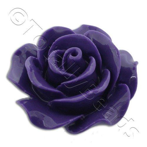 Acrylic Rose 25mm 1 Row -