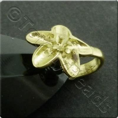 Golden Flower Bail - 12mm