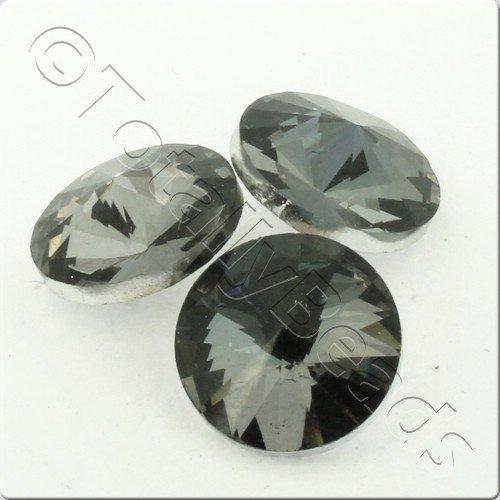 Crystal Rivoli - 14mm Smoky Quartz