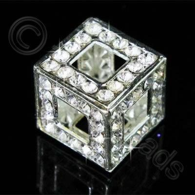 Diamante Pendant - Hollow Cube