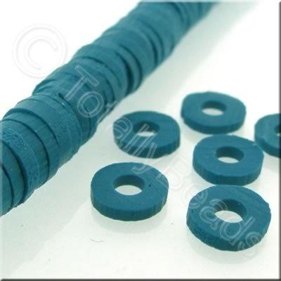 Fimo Heishi Disc 6mm - Denim - 150pcs