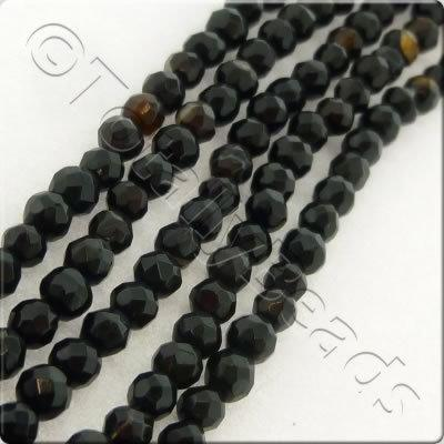 Mixed Agate 3mm Facet Round