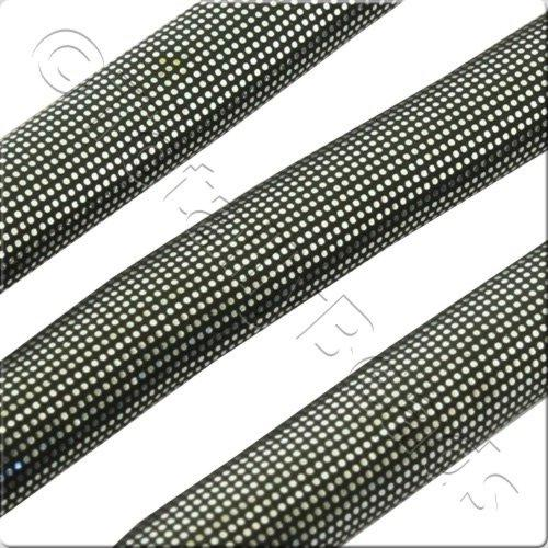Glitter Cord 5mm - Dark Grey 1m