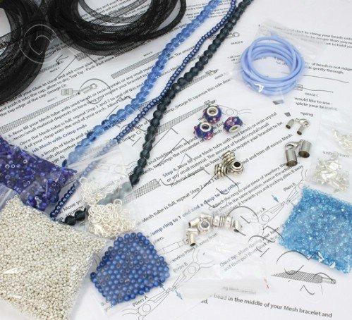 Mesh Starter Kit - Silver/Blue plus MESH