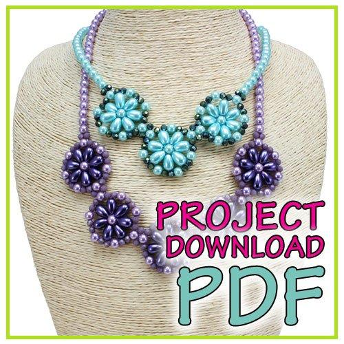 Clematis Necklace - Download Instructions