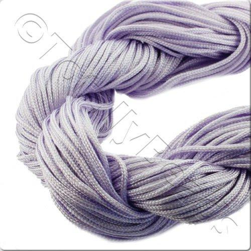 Rattail Cord 1mm Lilac - 10m