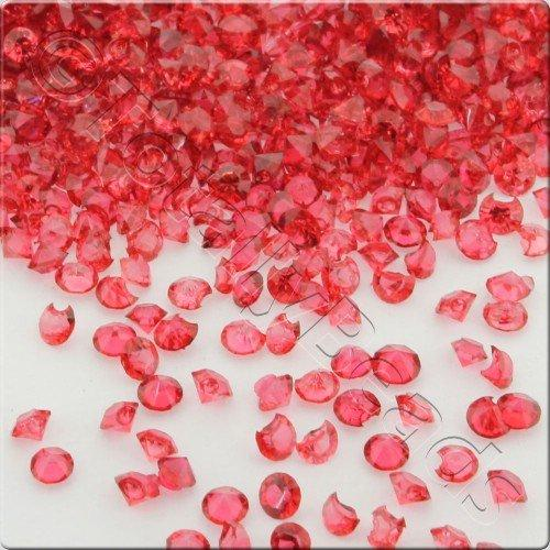 Resin Crystals Large 4mm - Red