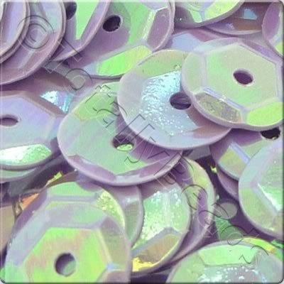 Sequins - 6mm Cup - Opaque Lilac AB