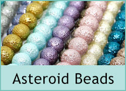 Asteroid Glass Beads