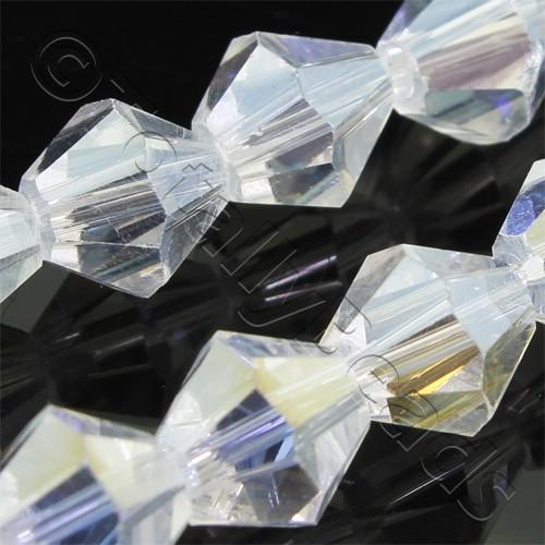 Crystal Bicone 8mm - Crystal AB