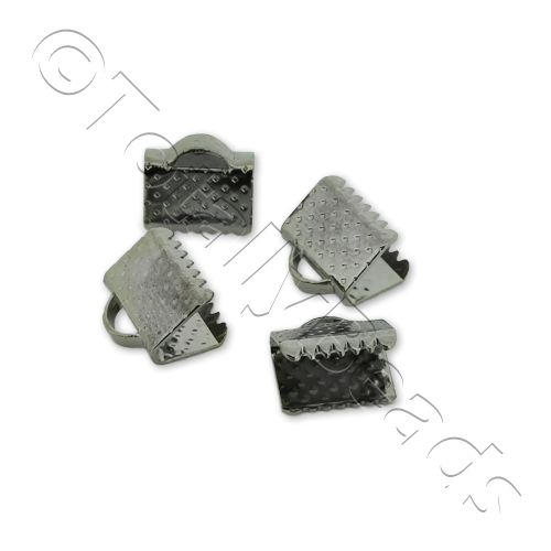 Crimp Connector 8mm - Black Plated