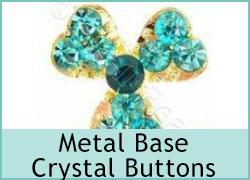 Metal-base Crystal Buttons