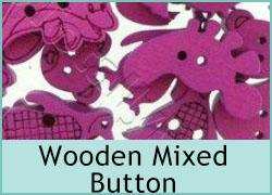 Wooden Mixed Buttons