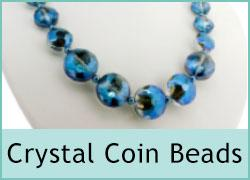 Crystal Coin Beads