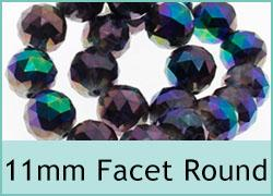 11mm Crystal Round
