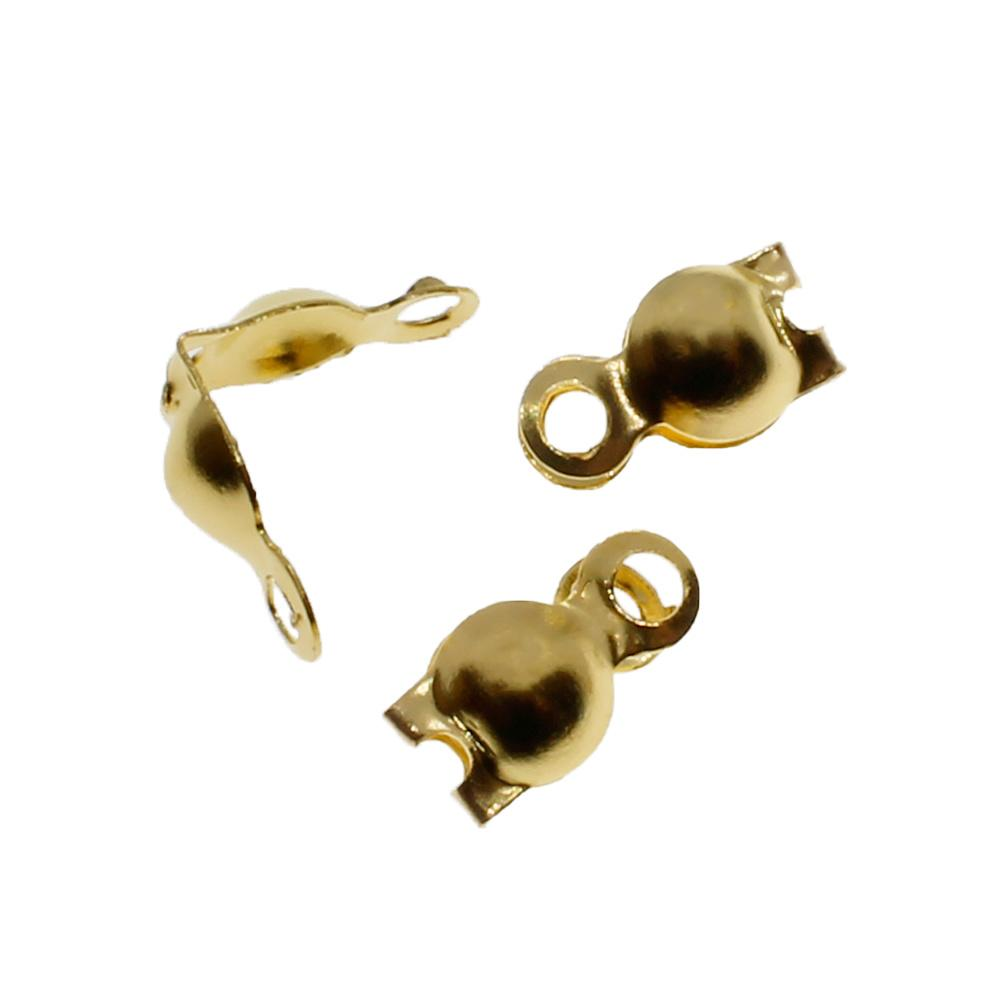 Callotte with Loop - Gold Plated 50pcs