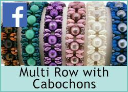 Multi Row with Cabochons - 18th June