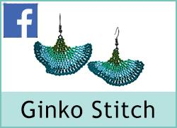 Ginko Stitch Earrings - 16th August
