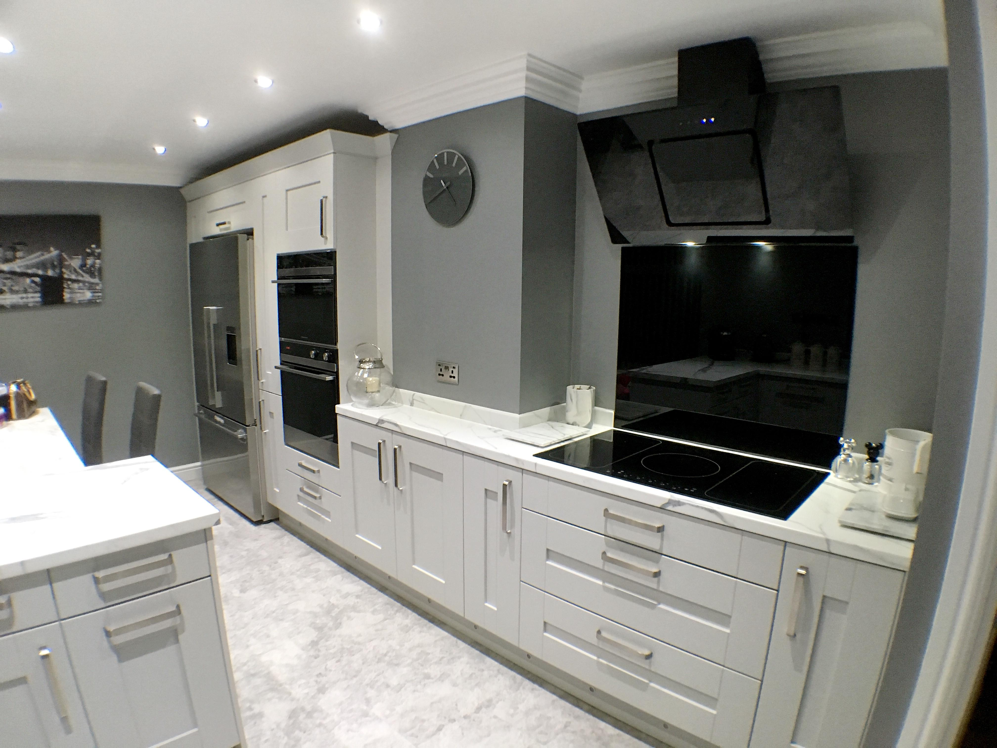 Portland Dove Grey - Dove grey kitchen units