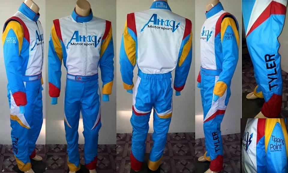 Bespoke Attaq Motorsport karting suit
