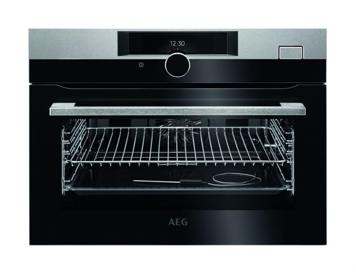 aeg ksk882220m steamboost multifunction compact steam oven u32272. Black Bedroom Furniture Sets. Home Design Ideas