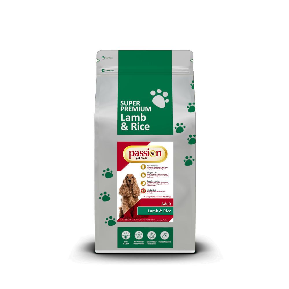 Super Premium Hypo Allergenic Dog Food Lamb Passion