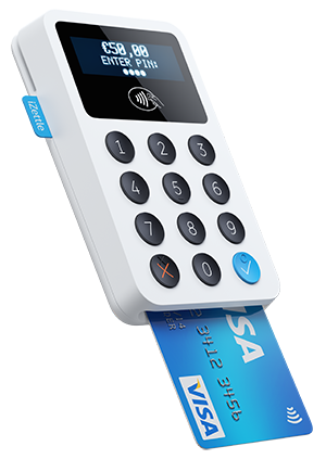 Izettle Contactless Chip Amp Pin Reader