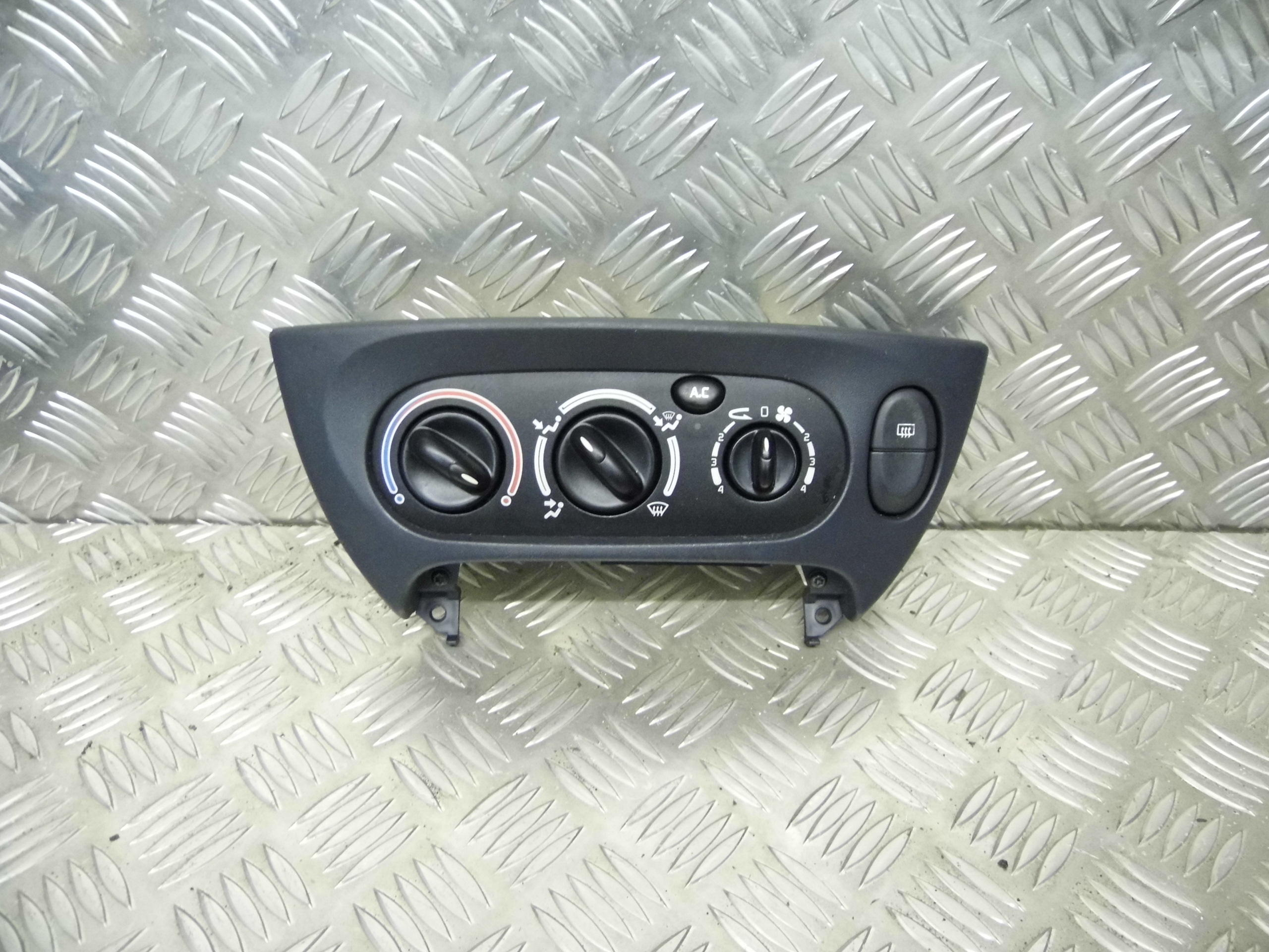 Used  renault megane coupe heater control panel