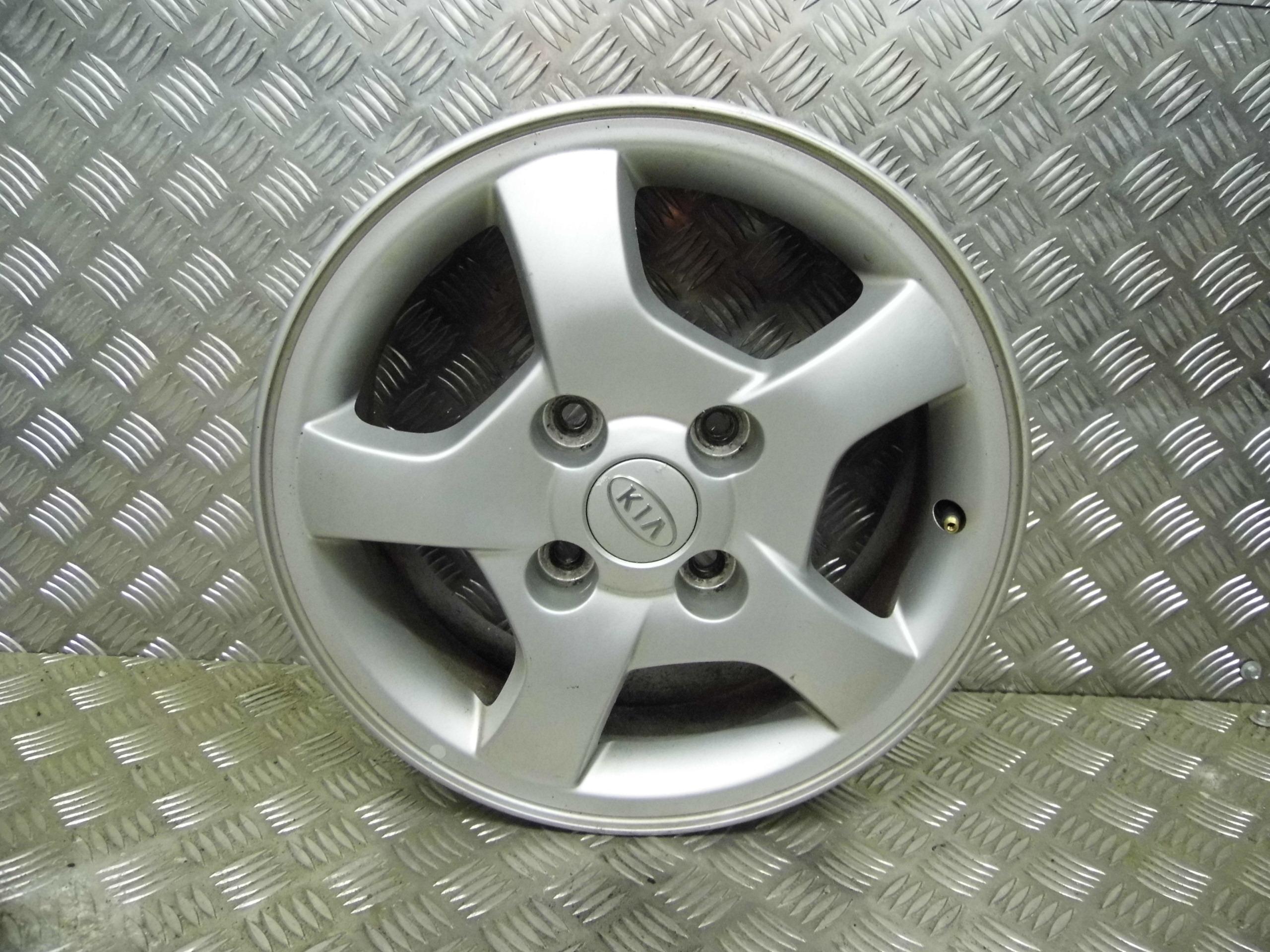 Used 2006 56 Kia Cerato 6j X 15 Inch 4 Stud Alloy Wheel Fuse Box Location