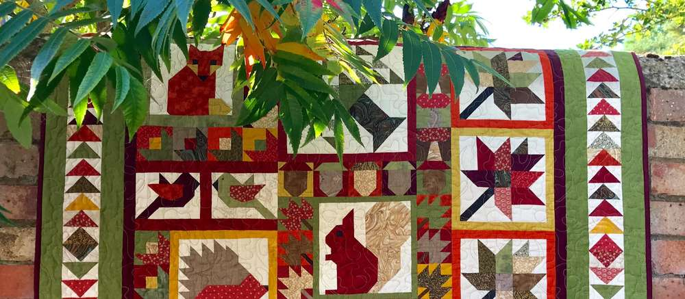 AUTUMN WOODLAND WALK Quilt Kit Available Online
