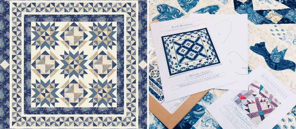 New Quilt Patterns Now Available to Buy Online