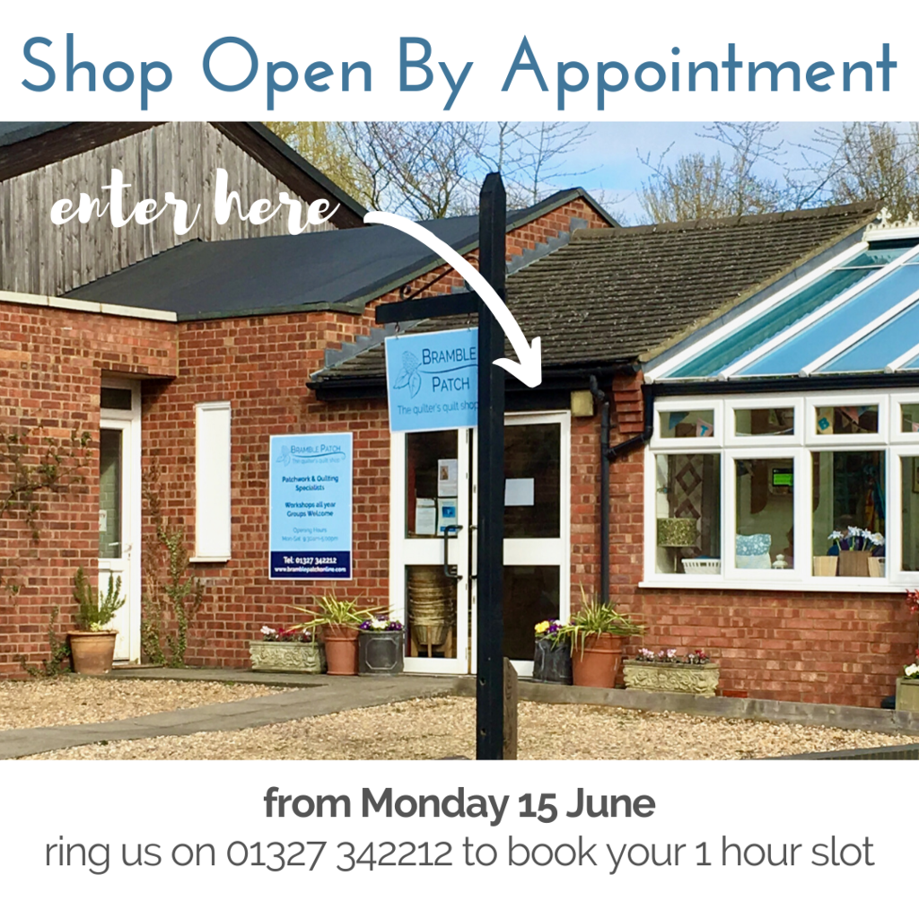 We are Open By Appointment from 15 June 2020