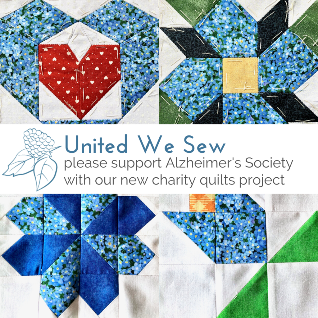 "Help us make our ""United We Sew"" charity quilts for Dementia Action Week"