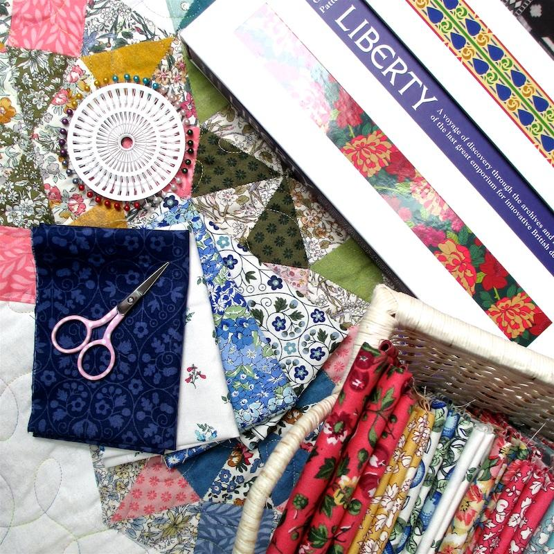 Liberty Fabrics Club launches with the new Orchard Garden Collection from Liberty of London