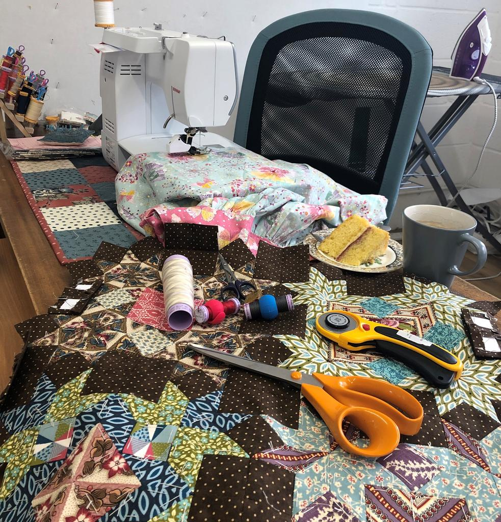 Summer 'Sit & Sew' during June and July 2019
