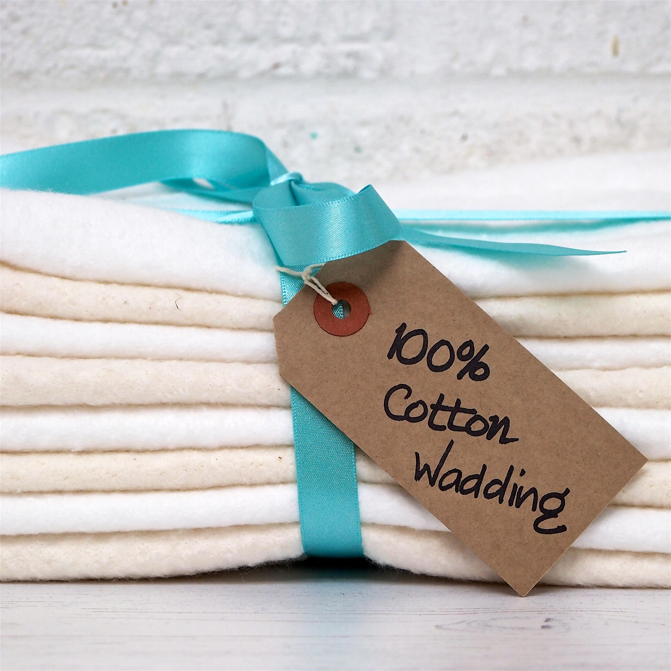 100% Cotton Wadding/Batting for quilting