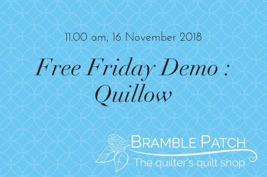 16 November 2018 Demo : Quillow