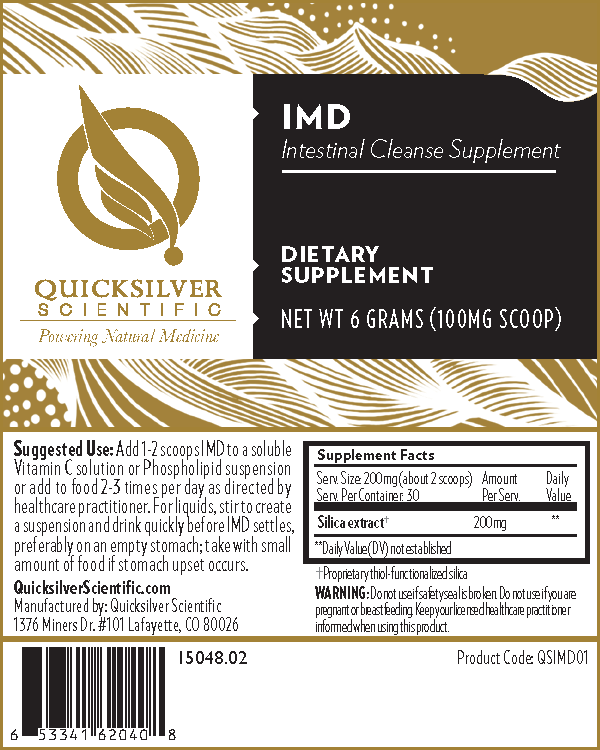 Intestinal Metal Detox - IMD Intestinal Cleanse 6g by Quicksilver Scientific