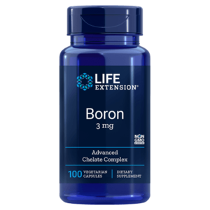 Boron capules 3mg by Life Extension