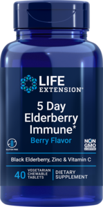5 Day elderberry immune chewable tablets