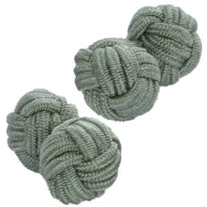 Olivine Knot Cufflinks from Cuffs & Co